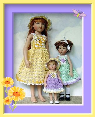 "patterns for 7"" Helen Kish Riley® dolls ~"